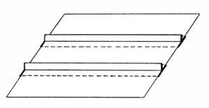 FIGURE 4: Sample divider and liner panel arrangement.