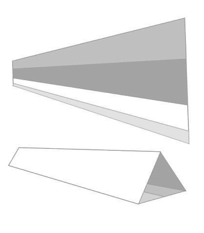 FIGURE 12. Wedge unfolded and folded