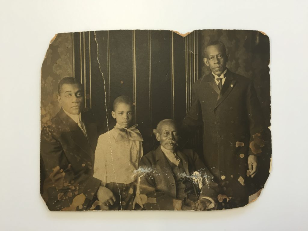 Figure 1: Portrait of the Younger Family, Accession 15-098.