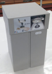 Fig. 20. Exterior of completed box with descriptive labeling.