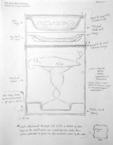 Fig. 4. Design sketch of bird's eye view of housing